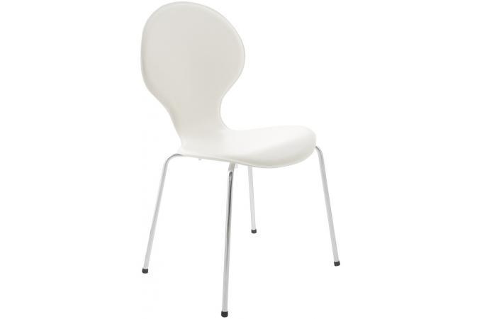 chaises blanche design wate design pas cher sur sofactory - Chaise Blanche Design Pas Cher