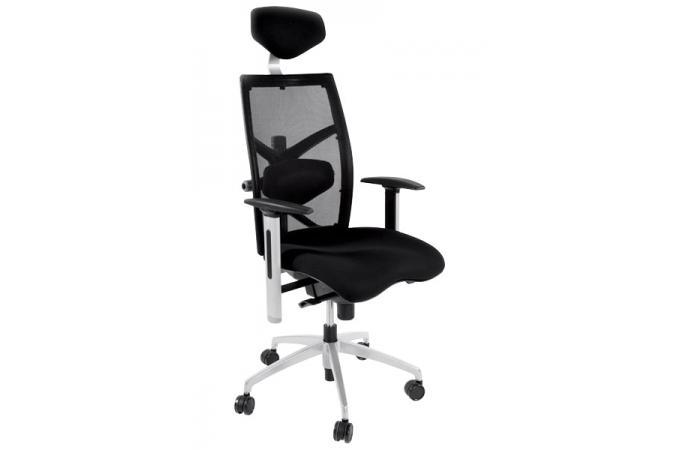 Tissu Bureau Noire Assise De Sur Sofactory Design Chaise Michel dCtsrhQ