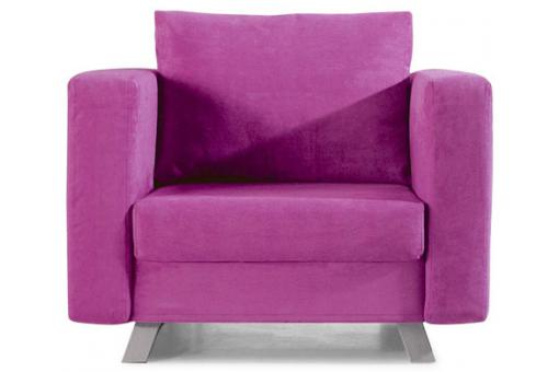 Fauteuil convertible 1 place Multi rose LIMA SoFactory