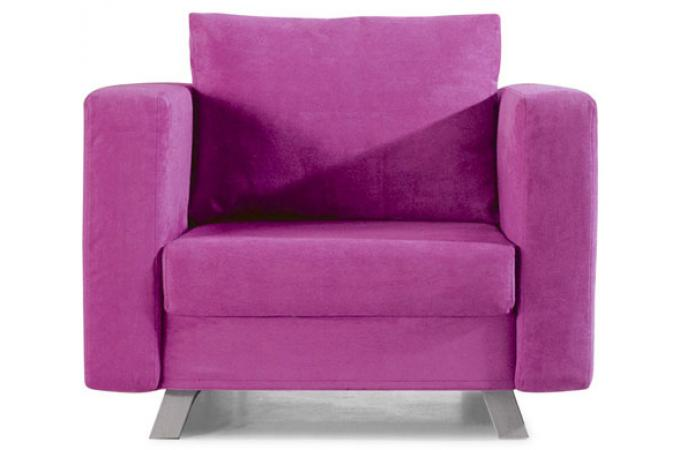 Fauteuil convertible 1 place Multi rose LIMA
