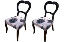 Lot de 2 chaises DOMIA