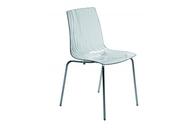 chaise design transparente arc design sur sofactory. Black Bedroom Furniture Sets. Home Design Ideas