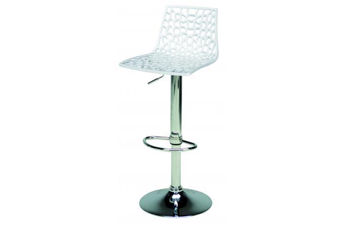 Tabouret de bar blanc smart design pas cher sur sofactory - Tabouret de bar blanc pas cher ...