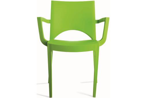 Chaise design verte turin design sur sofactory for Chaise verte