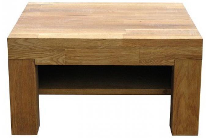 Table de chevet ch ne massif casta design sur sofactory - Acheter table de chevet ...