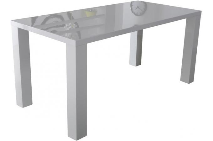 table manger rectangulaire blanche laqu e lana design en direct de l 39 usine sur sofactory. Black Bedroom Furniture Sets. Home Design Ideas