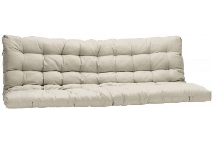 Matelas futon pour clic clac 135x190 cm cru dos enveloppant 100 coton plus - Surmatelas pour clic clac ...