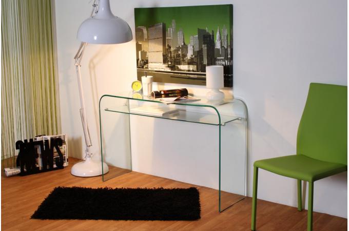 console en verre ottawa design sur sofactory. Black Bedroom Furniture Sets. Home Design Ideas