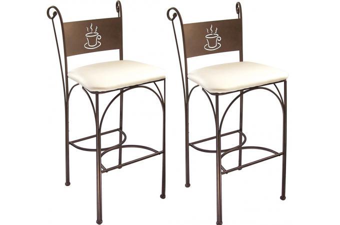 lot de 2 chaises hautes quiet design sur sofactory. Black Bedroom Furniture Sets. Home Design Ideas