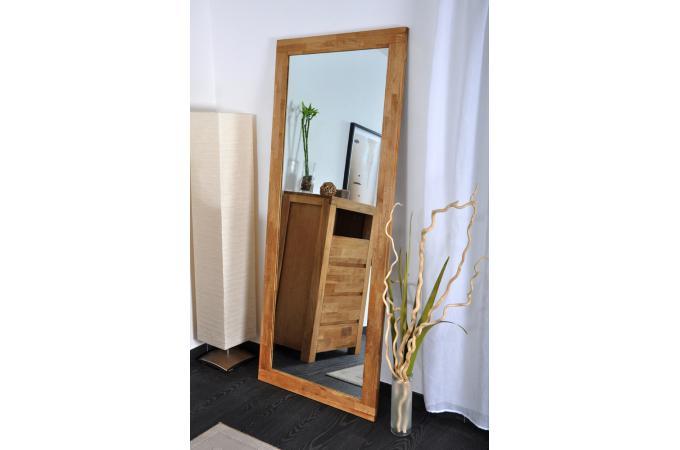 Miroir en ch ne huil casta d co design pas cher sur sofactory - Miroir a poser au sol ...