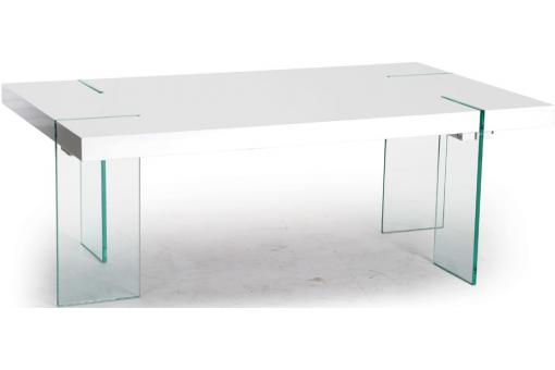 Table basse rectangulaire Blanche ADRIEN