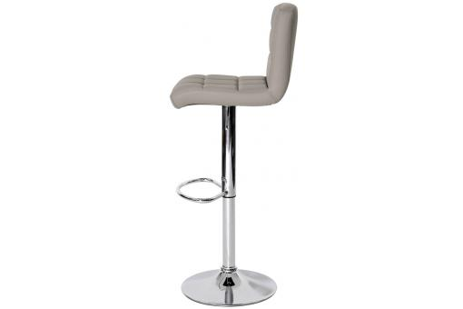 Tabouret Simili Cuir Taupe Lo67198-0000