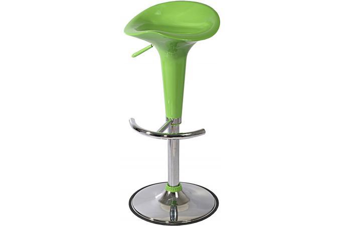 tabouret de bar en abs vert ajustable puma design sur sofactory. Black Bedroom Furniture Sets. Home Design Ideas