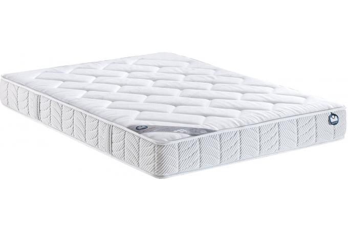 matelas 140 x 190 blanc en polyester bultex i novo 150 design pas cher sur sofactory. Black Bedroom Furniture Sets. Home Design Ideas