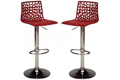 Lot de 2 Chaises de Bar Ajustables SMART SoFactory
