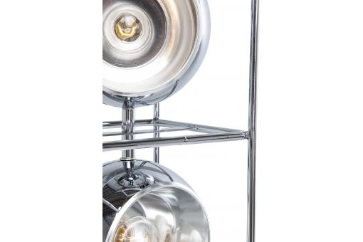 Lampadaire Tower Chrome MERCOLEDI Argent Ka72740-0000