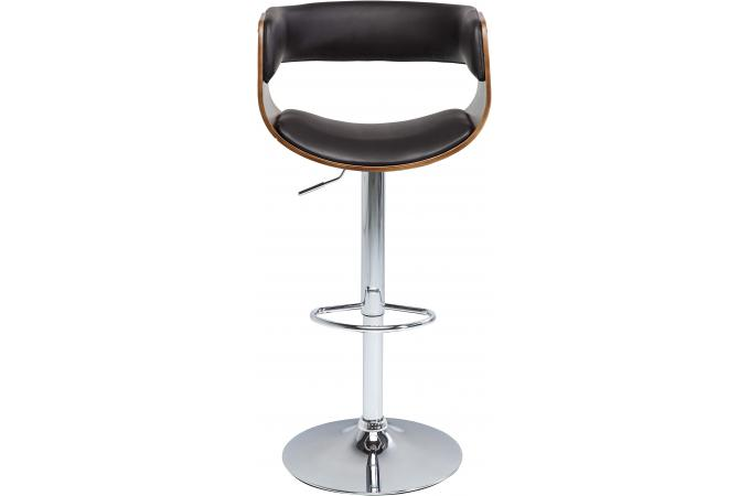 tabouret de bar design noir larry design sur sofactory. Black Bedroom Furniture Sets. Home Design Ideas