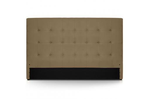 t te de lit 180 taupe yelli design sur sofactory. Black Bedroom Furniture Sets. Home Design Ideas