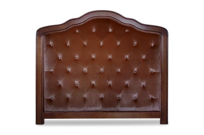 t te de lit 140 marron en bois dali design pas cher sur sofactory. Black Bedroom Furniture Sets. Home Design Ideas