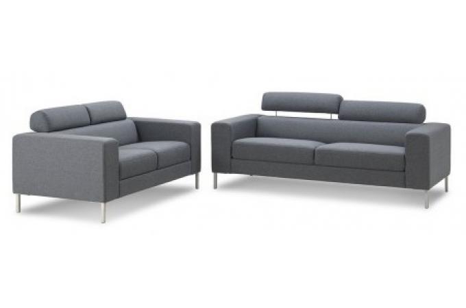canap trois places eddy design pas cher sur sofactory. Black Bedroom Furniture Sets. Home Design Ideas