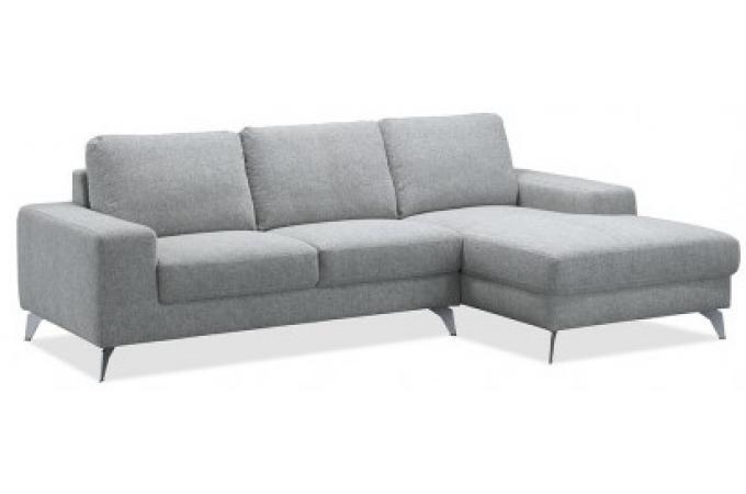 Canap d 39 angle droit en tissu primos design sur sofactory for Sur canape tessuti