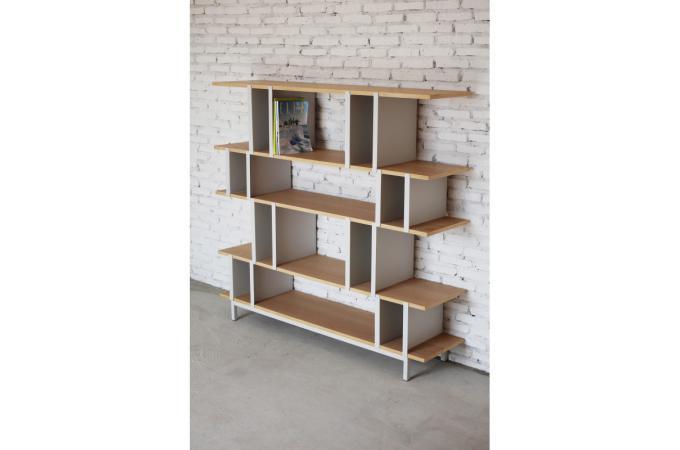 tag re contemporaine marron ch ne en m tal hills design pas cher sur sofactory. Black Bedroom Furniture Sets. Home Design Ideas