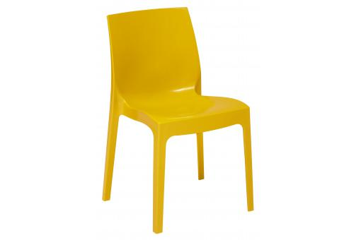 Chaise Empilable Jaune VIENNE SoFactory
