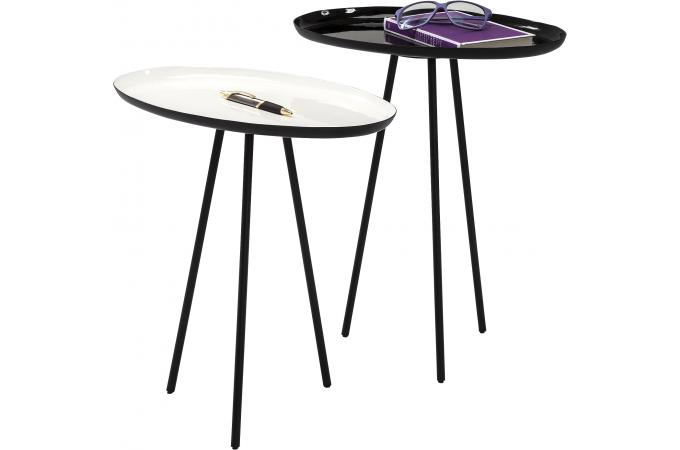 Set de 2 Tables d'appoint VOILA