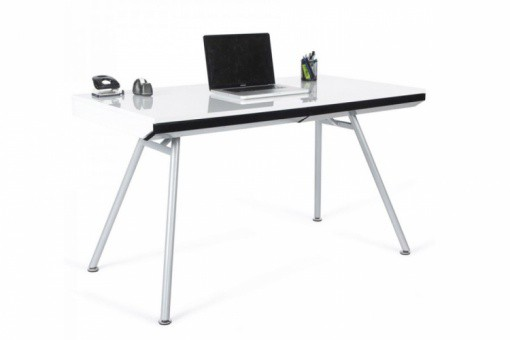 Bureau Rectangulaire design Blanc CENT
