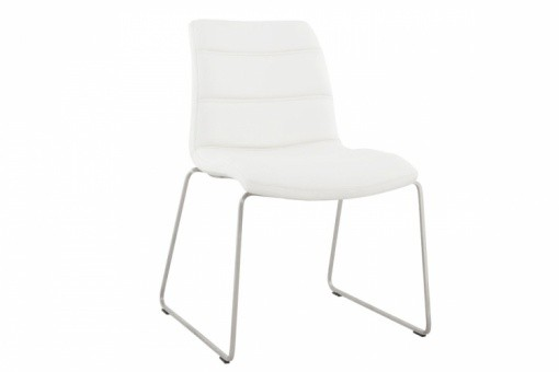 Chaise design blanche MARY