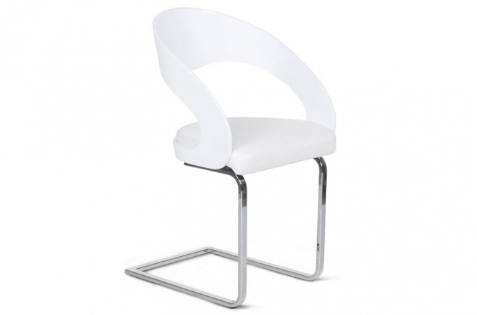 Chaise Design Lilou Blanc  LALY