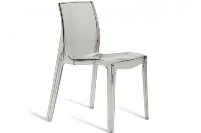 chaise transparente vienne design sur sofactory. Black Bedroom Furniture Sets. Home Design Ideas
