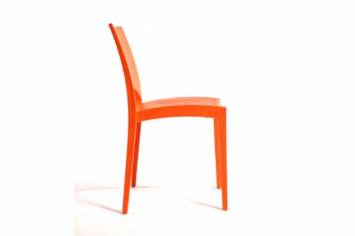 Lot de 2 Chaises Design Oranges DELHI GR47227-0000