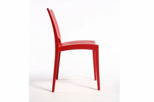 Lot de 2 Chaises Design Rouges DELHI GR47229-0000