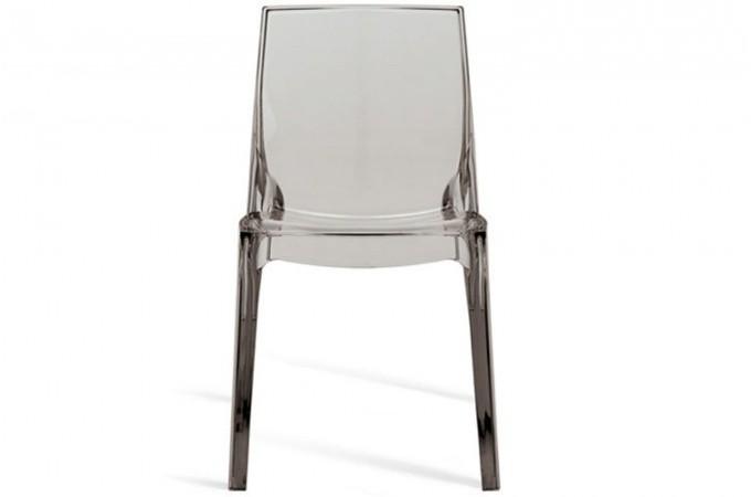 lot de 2 chaises transparentes vienne design sur sofactory. Black Bedroom Furniture Sets. Home Design Ideas