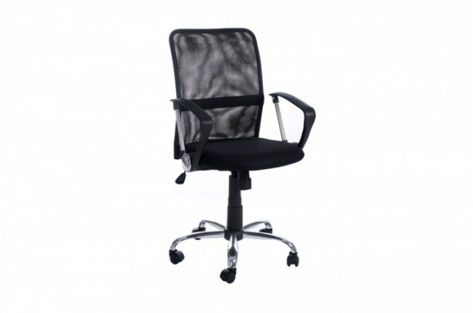 Chaise de bureau aventura noir avy design sur sofactory