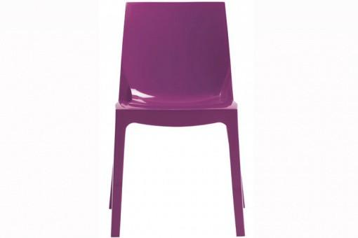 chaise design violette vienne design sur sofactory. Black Bedroom Furniture Sets. Home Design Ideas