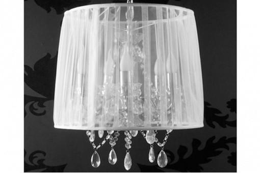 lustre baroque blanc olympe d co design sur sofactory. Black Bedroom Furniture Sets. Home Design Ideas