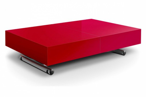 Table basse Bois Rouge ME48693-0000