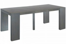Table console extensible Vintage 4 rallonges XL SKULI