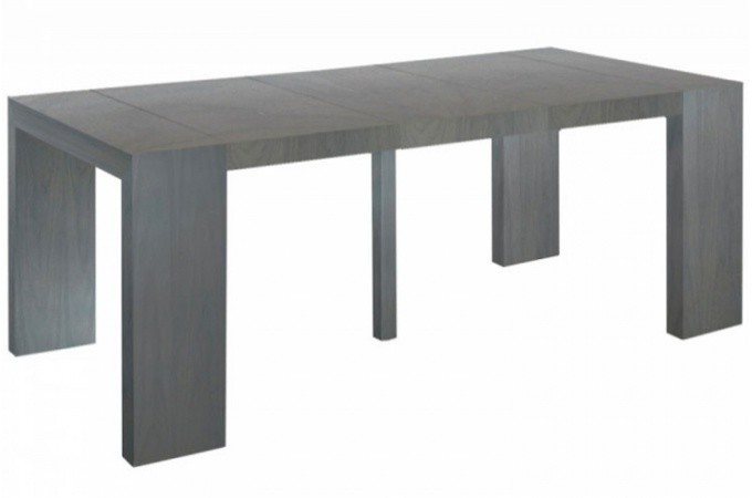 Table a rallonge pas cher maison design - Console extensible rallonge integree ...