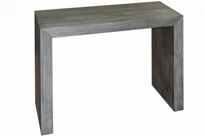 Table console extensible vintage 4 rallonges xl skuli design pas cher sur sof - Console extensible 5 rallonges ...