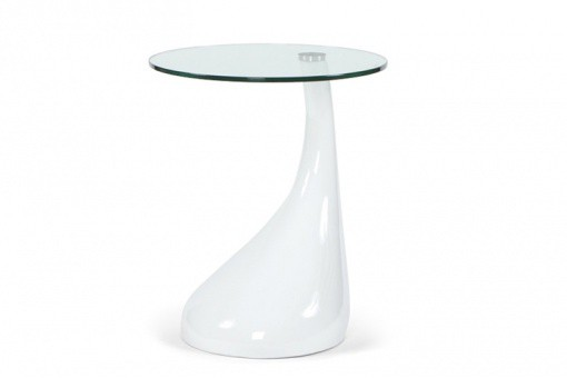 Table d'Appoint Design Blanc SNOOPY