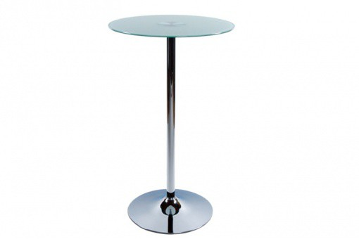table de bar plateau verre opaque twist design sur sofactory. Black Bedroom Furniture Sets. Home Design Ideas