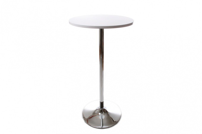 Table de Bar Snack Blanc Design  DWIGHT