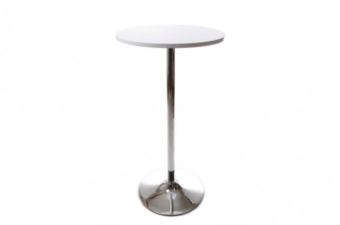 Table de Bar Snack Blanc Design DWIGHT design sur SoFactory