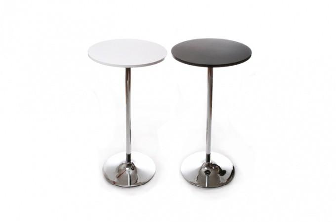 table de bar snack blanc design dwight design sur sofactory. Black Bedroom Furniture Sets. Home Design Ideas