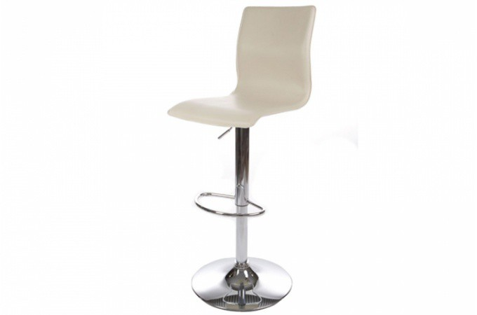 Tabouret de bar blanc design dream design pas cher sur sofactory - Tabouret de bar blanc design ...