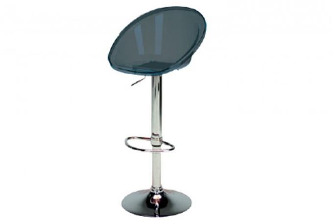 tabouret de bar fum transparent rome design sur sofactory. Black Bedroom Furniture Sets. Home Design Ideas