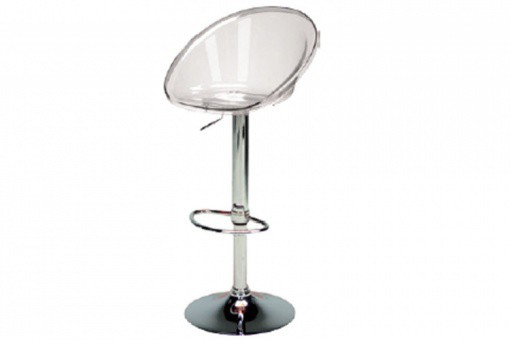 Tabouret De Bar Design Transparent ROME